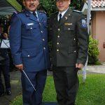 Benjamín Domingo y sargento Enríquez. Revista Protocolo Copyright©