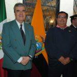 Los periodistas deportivos Francisco Posada y Francisco Hernández acudieron al festejo. Revista Protocolo Copyright©