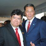 Eduardo José Atienza de Vega, embajador de Filipinas, y Andrian Yelemessov, embajador de Kazajstán. Revista Protocolo Copyright©