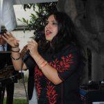 La cantante ecuatoriana Lu Miranda amenizó parte del festejo. Revista Protocolo Copyright©