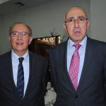 Mohamed Chafiki, embajador de Marruecos, y Rabah Hadid, embajador de Argelia