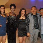 Liliana Aristi, Maryelin Reyes, Marina Aristi, Jesús Aristi y Carlos Gómez