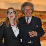 Alena Guzarova, embajadora de Eslovaquia, y Luigi Macota, embajador de Italia