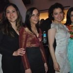 Concepción Gutiérrez, Ariadna Vázquez, Suriné Duran y Elena Castro