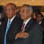 Pablo Mariñes, exembajador de República Dominicana en México, y Fernando Antonio Pérez Memén, embajador de República Dominicana