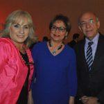 Leticia Jiménez, Azucena Triana y Luis Contreras