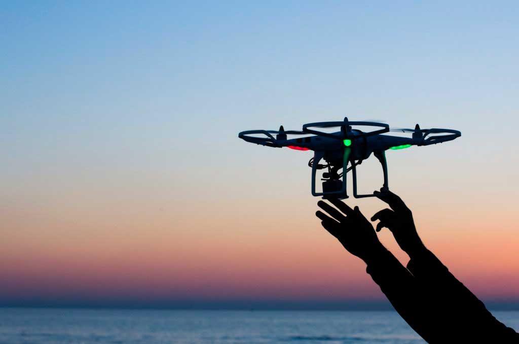 Drones, aliados de la seguridad