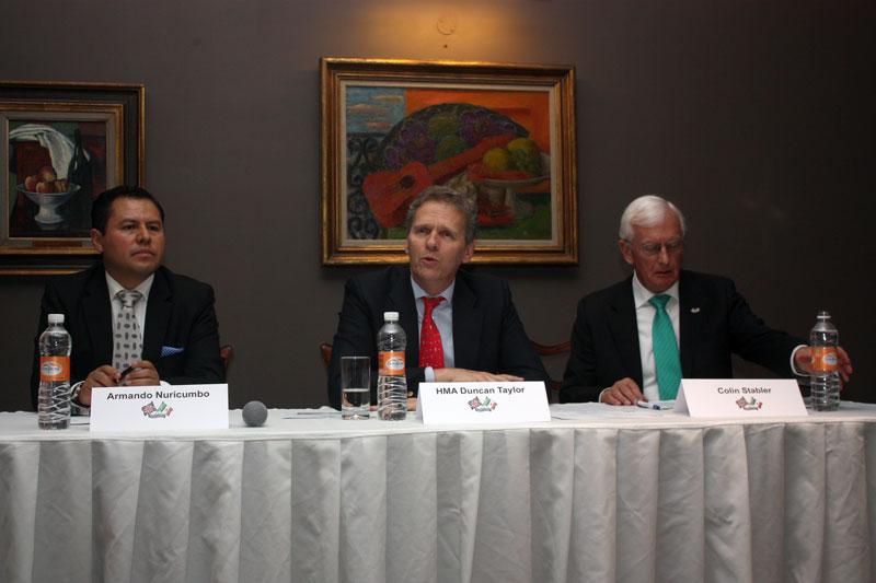 Asamblea anual de la Fundación Amistad Británico-Mexicana