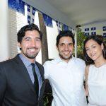 Rafael Giles, José Luis Morales y Annie-Claude Paulin. Revista Protocolo Copyright©