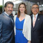 Víctor Dávila, Anne Toussaint y Enrique Patiño. Revista Protocolo Copyright©