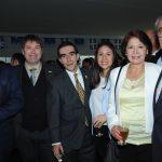 Juan Luis Munguía, Dominic Tetu, Fernando Betancurt, Yatziri Patiño, Aurora Juárez y Enrique Patiño. Revista Protocolo Copyright©