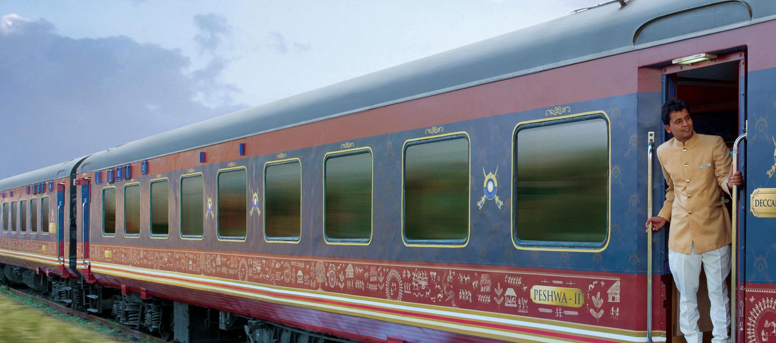 Deccan Odyssey, en tren único que ofrece viajes exclusivos en Asia