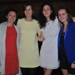 Laure Anne Lecoat, Julie Hyzewicz, Clemence Thevemiaa y Agathe Benoit
