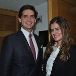 Juan Miguel Paris y Pamela Ortiz