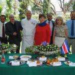 Embajadora de Costa Rica deleita a sus invitados con platillos costarricenses