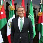 Invita embajador de Jordania a recepción en su residencia