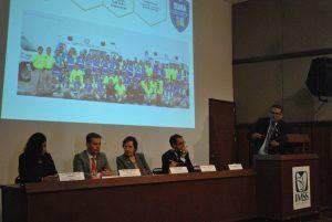 Eric Varela Cortés, director del SUMA Puebla, realizó la presentación de la propuesta