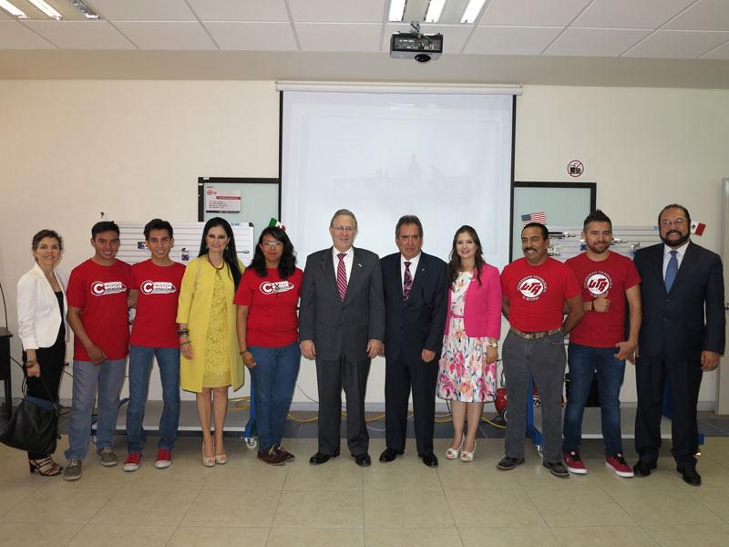 Embajador de Estados Unidos visitó Aguascalientes