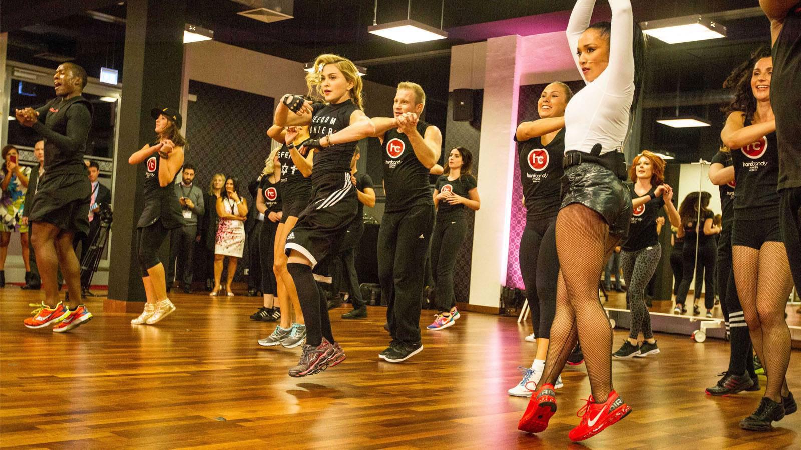 Entrena al ritmo del playlist de Rebel Heart Tour de Madonna