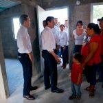 Estrenan casas damnificados chiapanecos de los sismos de septiembre