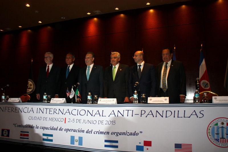 Inauguración de la Tercera Conferencia Internacional contra Pandillas
