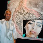 Ahmed Mulay Ali Hamadi, encargado de Negocios A. I. de la representación de la República Árabe Saharaui Democrática en México. Foto propiedad de la revista Protocolo Copyright©