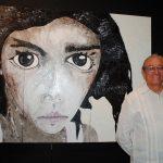 El reconocido músico Gabino Palomares acudió a la inauguración. Foto propiedad de la revista Protocolo Copyright©