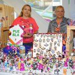 Expo-venta de productos artesanales en Punto México