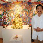 Exposición Buda, la basura transformada en objetos sacros