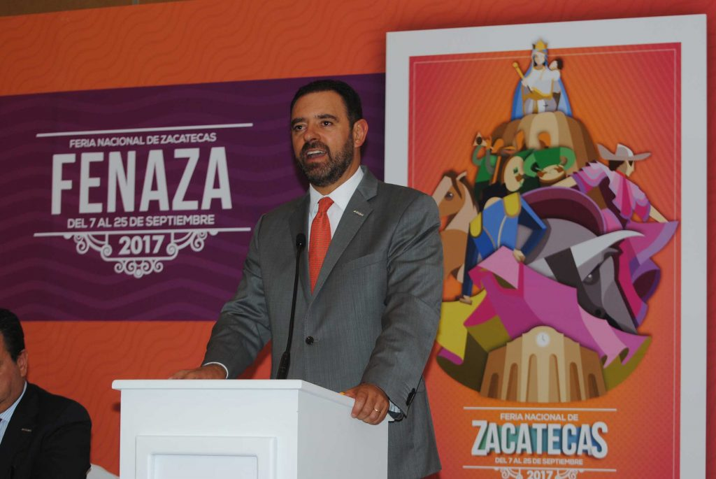 Alejandro Tello Cristera, gobernador de Zacatecas