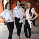 Angélica Sandoval, Karely Sandoval y Tannia Elizabeth Martínez, se disputan el nombramiento de Reina de la Fenaza 2017