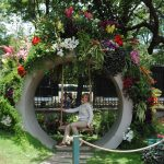 Realizan con éxito el Festival de Flores y Jardines
