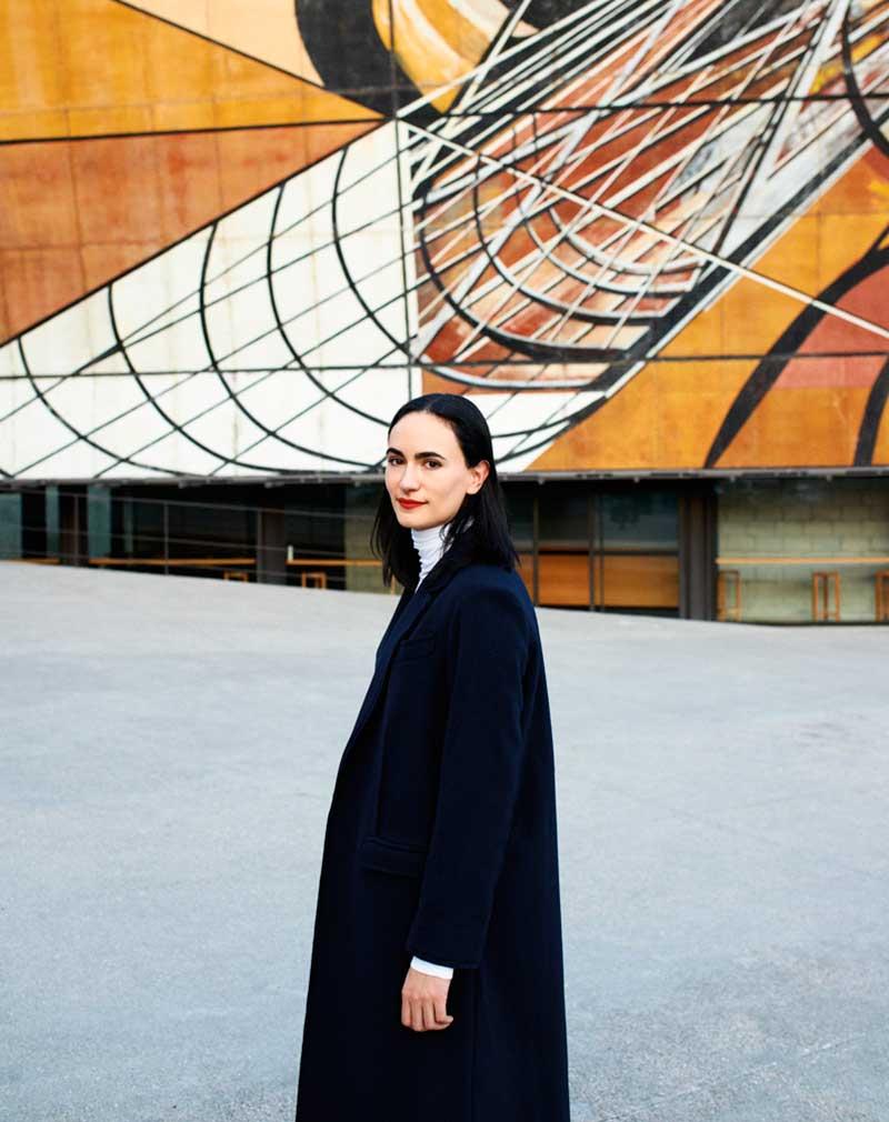 La arquitecta mexicana Frida Escobedo intervendrá el Museo Victoria and Albert de Londres. Foto: Arturo López / Conaculta