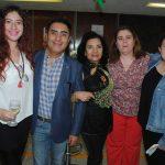 Miranda, Federico y Adela Kaiser, con Sara Cortés y Sara Palacios. Foto: Revista Protocolo Copyright©