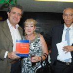 Joaquín y Alicia Abascal, con José Marrón. Foto: Revista Protocolo Copyright©