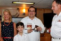 Gobernador de Veracruz recibe a embajadora y tripulación de buque canadiense