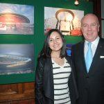 Andrea Reynoso y Eric R. Mercier, delegado general de Quebec en México. Revista Protocolo Copyright©