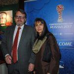 Hans Christian Kint, embajador de Bélgica, y su esposa, Carmen Fabián. Revista Protocolo Copyright©