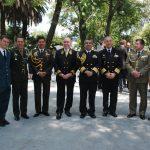 Agregados militares y de la policía, con Eduard Malayan, embajador de la Federación de Rusia. Revista Protocolo Copyright©
