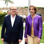 Se reúnen en Morelos embajadora de Estados Unidos y Graco Ramírez