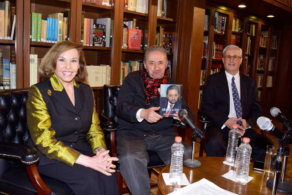 Kena Moreno, Enrique Castillo-Pesado y Gerardo Zapata Calzada.