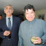 Aitzaz Ahmed, embajador de Pakistán, y Eduardo José Atienza de Vega, embajador de Filipinas