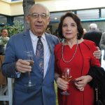 Alejandro Moisidelis y Gloria Perusquia