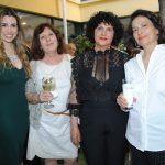 Andrea Morton, Ana Robles Sajo, Sofía Kyriakaki y Marina Lascaris