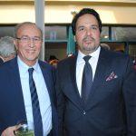 Mohamed Chafiki, embajador de Marruecos, y Ahmed Abdulla A. A. Al-Kuwari, embajador de Qatar