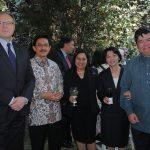 Ruslan Spirin, embajador de Ucrania; Yusra Khan, embajador de Indonesia; Nadariya Nopakun, Rommanee Kananunak, embajadora de Tailandia, y Eduardo José Atienza de Vega, embajador de Filipinas