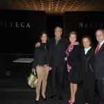Georgina Martínez, Érick del Castillo, Kate Trillo, Georgina de Ampudio y Servando González hijo