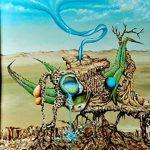 Presenta Jorge González Pérez muestra El Huevo Azul en Peligro de Extinción