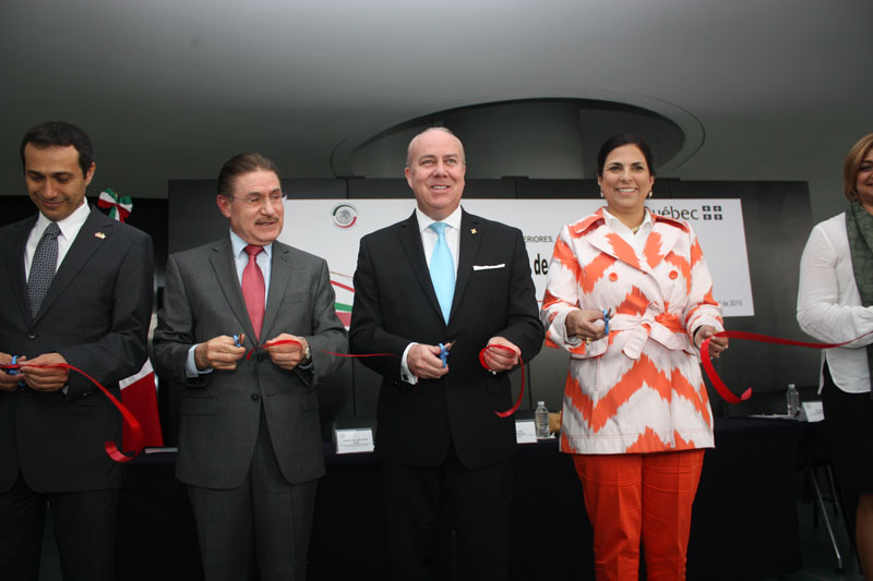 Inauguran exposición México-Quebec: 35 años de cooperación exitosa