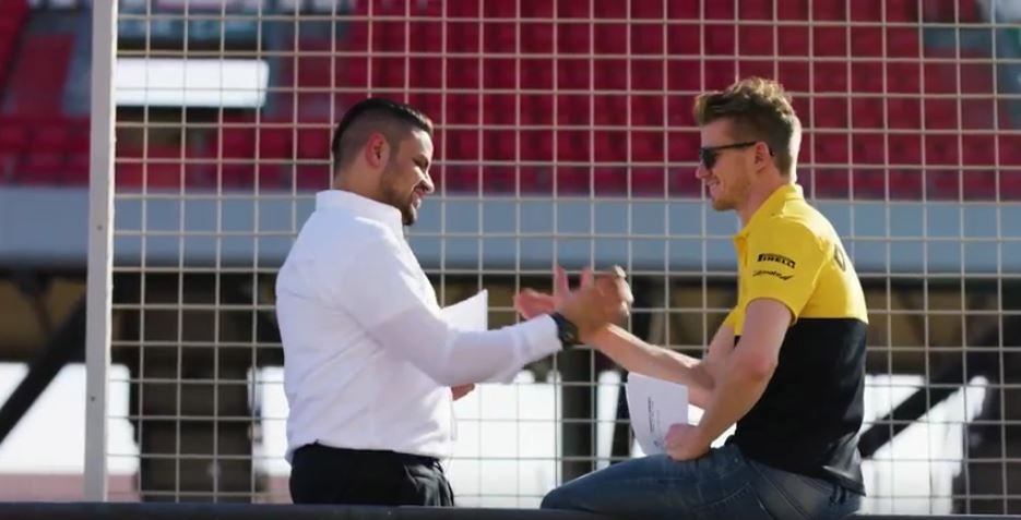De poder a poder, Infiniti premia a sus ganadores con un convivio-desafío con un piloto de F1